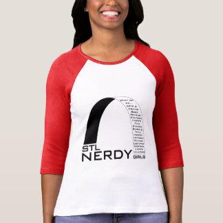 STL Nerdy Girls swag T-Shirt