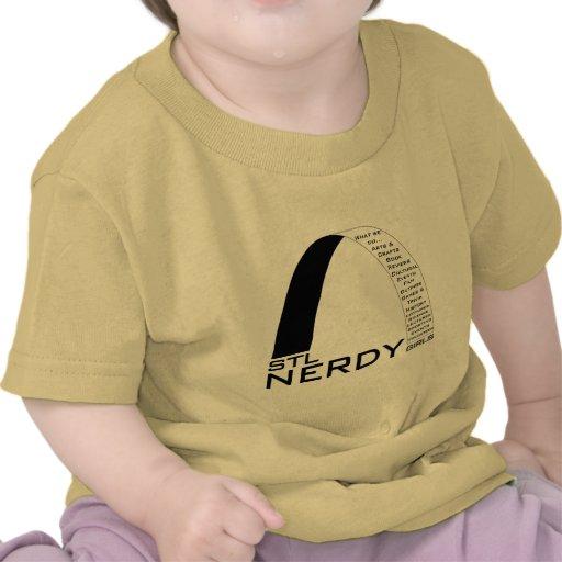 STL Nerdy Girls swag Tshirts