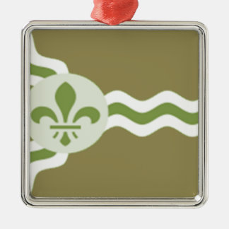 STL Subdued.png Silver-Colored Square Ornament