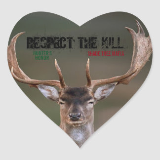 STM/HUNTER'S HONOR: RESPECT THE KILL STICKER