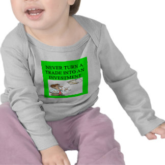 stock broker joke tee shirt