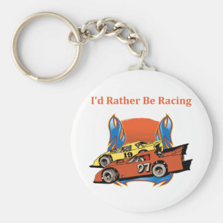 Stock Car Racing Keychains