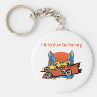 Stock Car Racing Keychains