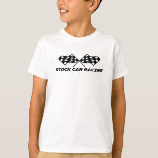 Stock Car Racing Kids T-Shirt