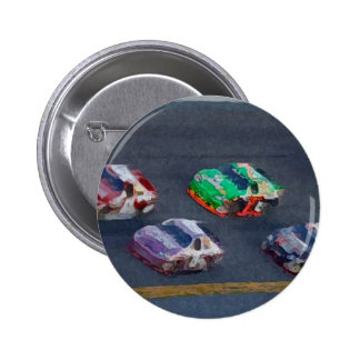 Stock Cars 4 2 Inch Round Button