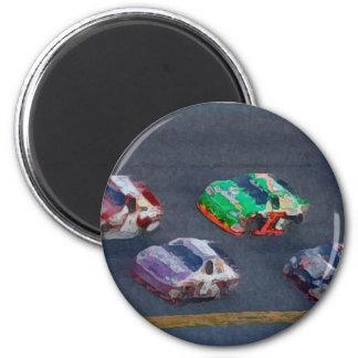 Stock Cars 4 Magnet