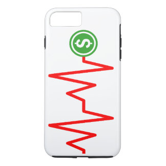 Stock Chart Dollar Sign iPhone 7 Plus Case