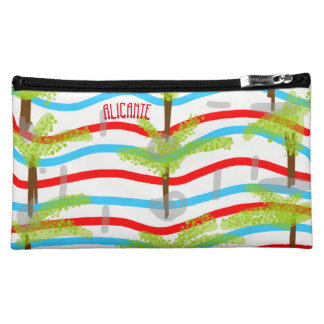 Stock market Alicante make-up Cosmetic Bag