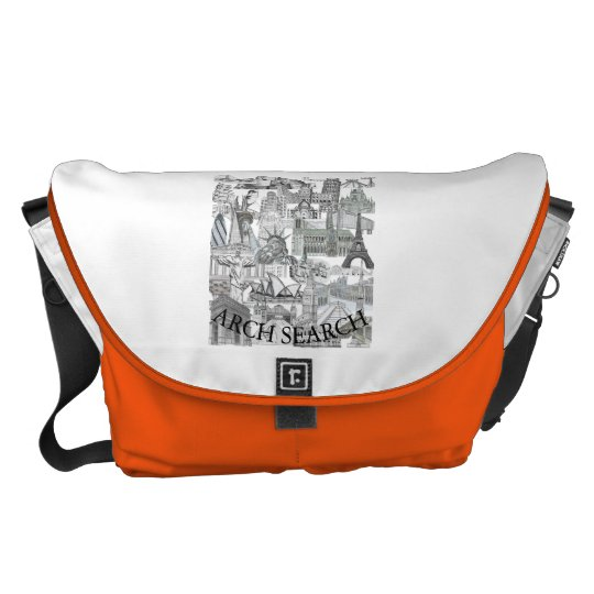 Stock market Arch great Mural Search Commuter Bag