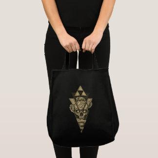 "Stock market/bag ""Skull pyramid "" Tote Bag"