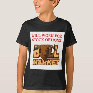 STOCK market cramer joke Shirts