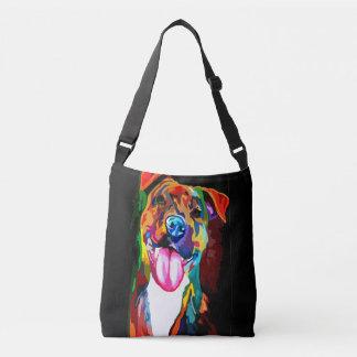 Stock market Dog Crossbody Bag