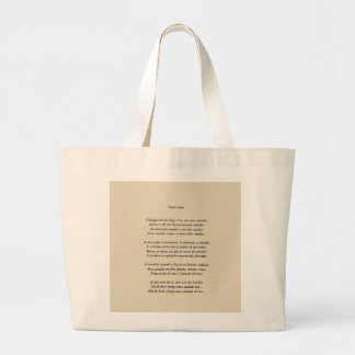 STOCK MARKET DUAS SOULS, OF ALCEU WAMOSY LARGE TOTE BAG