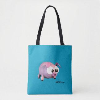 Stock market Gorri Fabric Tote Bag