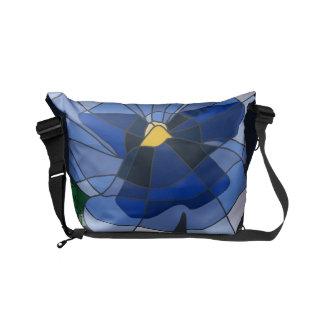 Stock market - Knapsack Small Violet Vitral Commuter Bag
