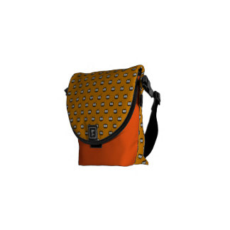 Stock market Mesh Arch small Search TV Messenger Bag