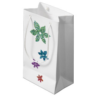 Stock market of Small Gift - Floral Small Gift Bag