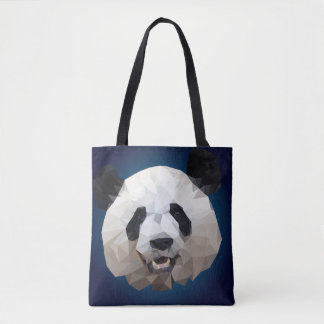 Stock market Panda Tote Bag