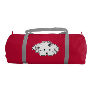 Stock market sports young, red, the world of Lua Gym Bag