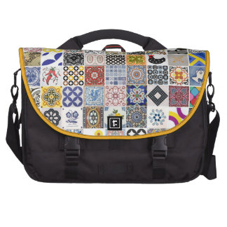 Stock market Tiles Commuter Bag