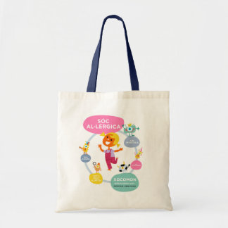 stock market without allergens tote bag