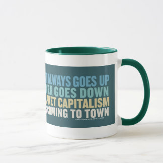 Stock Markets & Santa Claus Mug