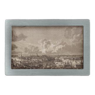 Stockholm 1805 rectangular belt buckle
