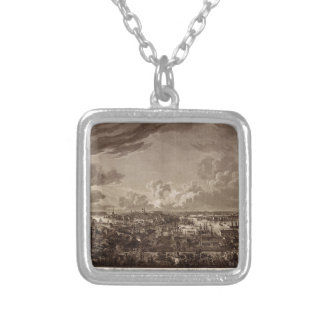 Stockholm 1805 silver plated necklace