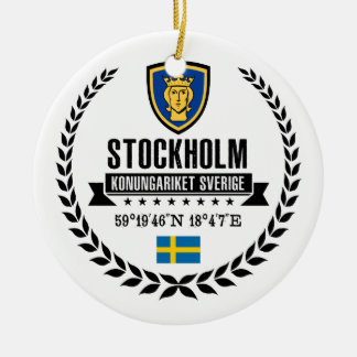 Stockholm Ceramic Ornament