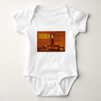 Stockholm City Hall, Sweden Baby Bodysuit
