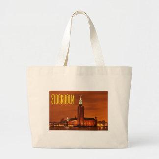 Stockholm City Hall, Sweden Large Tote Bag