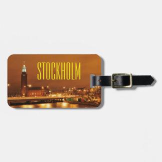 Stockholm City Hall, Sweden Luggage Tag