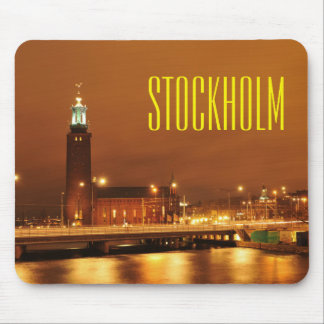Stockholm City Hall, Sweden Mouse Pad