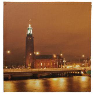 Stockholm City Hall, Sweden Napkin