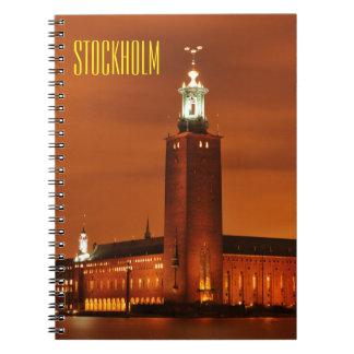 Stockholm City Hall, Sweden Notebook