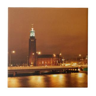 Stockholm City Hall, Sweden Tile