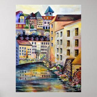 Stockholm, Gamla Stan, Old Town Poster