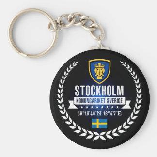 Stockholm Keychain