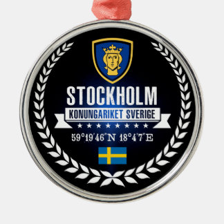 Stockholm Metal Ornament