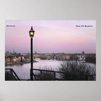 Stockholm, Photo Ola Berglund Poster