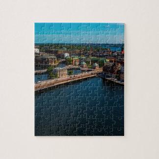 Stockholm Skyline Jigsaw Puzzle