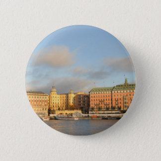 Stockholm, Sweden 2 Inch Round Button