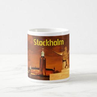 Stockholm, Sweden at night Coffee Mug