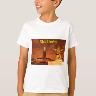 Stockholm, Sweden at night T-Shirt