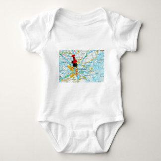 Stockholm, Sweden Baby Bodysuit