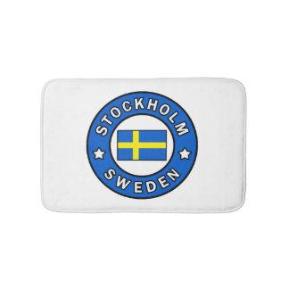 Stockholm Sweden Bath Mat
