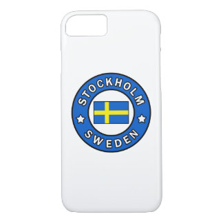 Stockholm Sweden iPhone 8/7 Case
