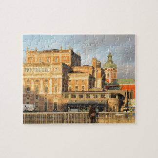 Stockholm, Sweden Jigsaw Puzzle