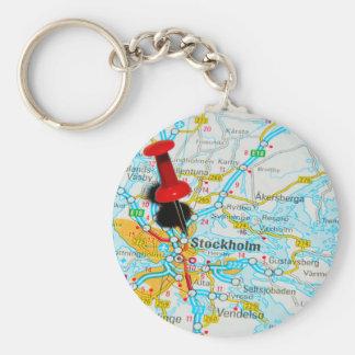 Stockholm, Sweden Keychain