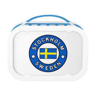 Stockholm Sweden Lunch Box
